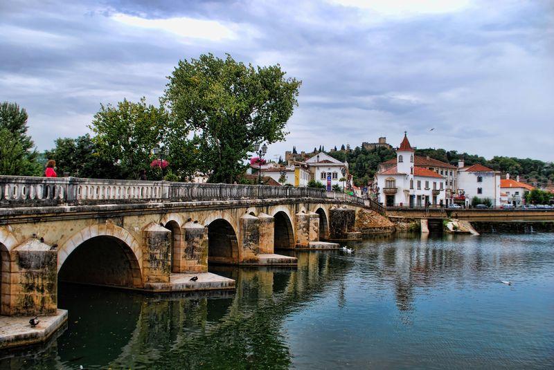 Bridge King D. Manuel I in Tomar