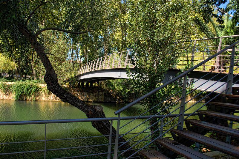 Bridge over Nabão River in the City of Tomar