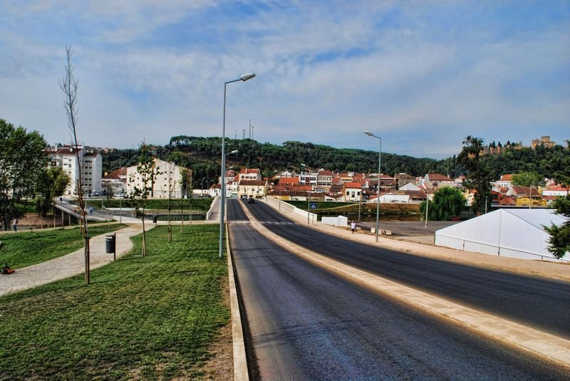 Ponte do Flecheiro in the City of Tomar in Portugal