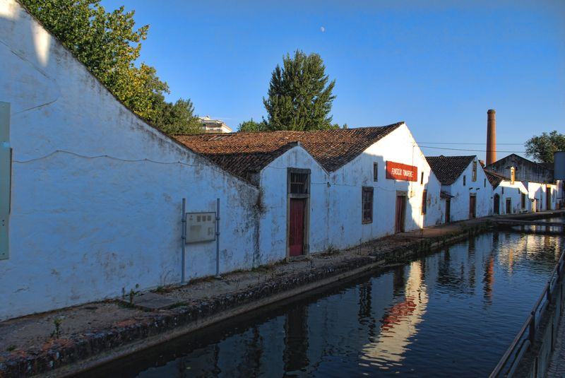 Lagares Del Rey at Levada in the City of Tomar in Portugal