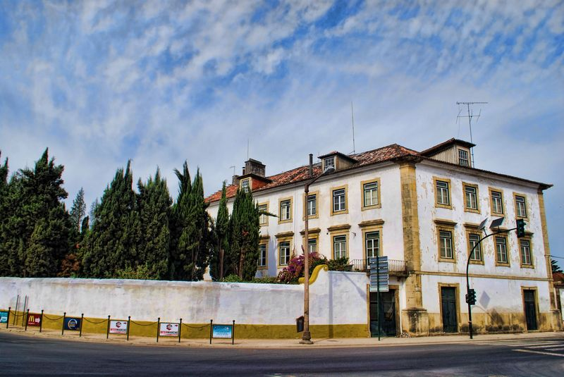 Palace at Avenida Dom Nuno Álvares Pereira in the City of Tomar