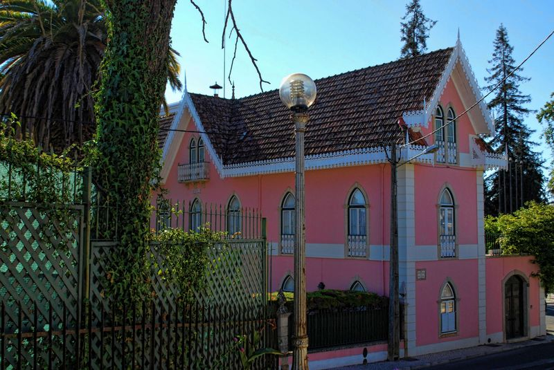 House close to Hotel dos Templários in the City of Tomar in Portugal