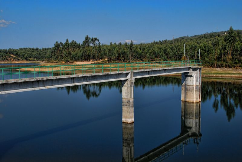 Carril Dam in tomar, Portugal