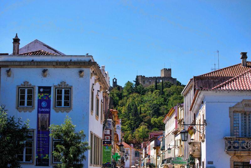 Castle of Tomar in Rua Serpa Pinto