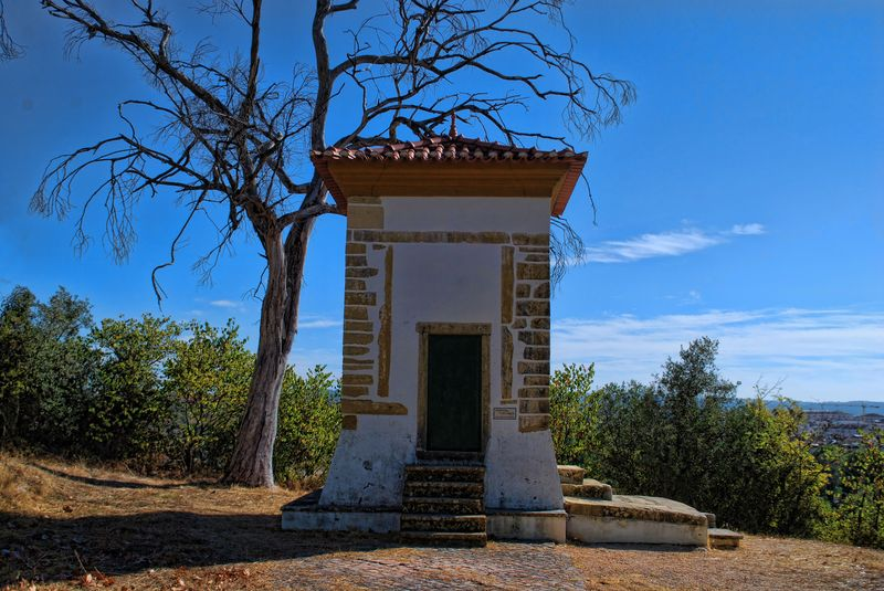 Small chapel close to the Chapel of Senhora da Piedade in the City of Tomar