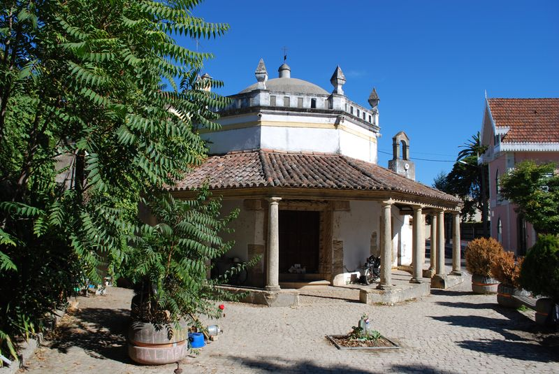 Chapel of São Gregório at Varzea Pequena in the City of Tomar in Portugal