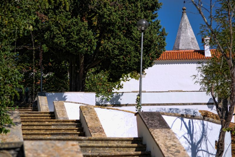 Chapel of Senhora da Piedade in the City of Tomar in Portugal