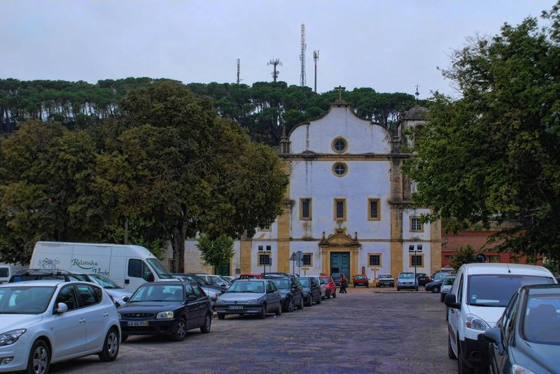 The Church of São Francisco in the City of Tomar in Portugal