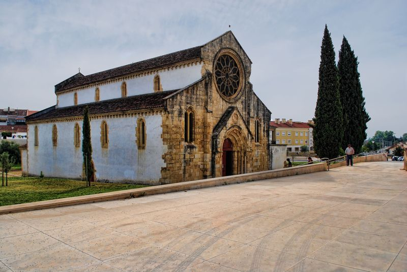 Church of Santa Maria do Olival in the City of Tomar