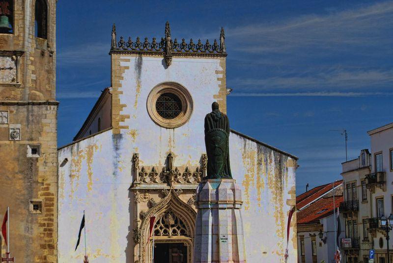 Church of São João Baptista in Tomar