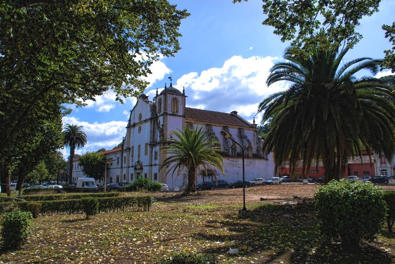 Convent of São Francisco in the City of Tomar in Portugal