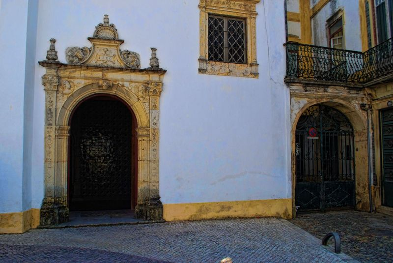 Santa Iria Chapel in the City of Tomar in Portugal