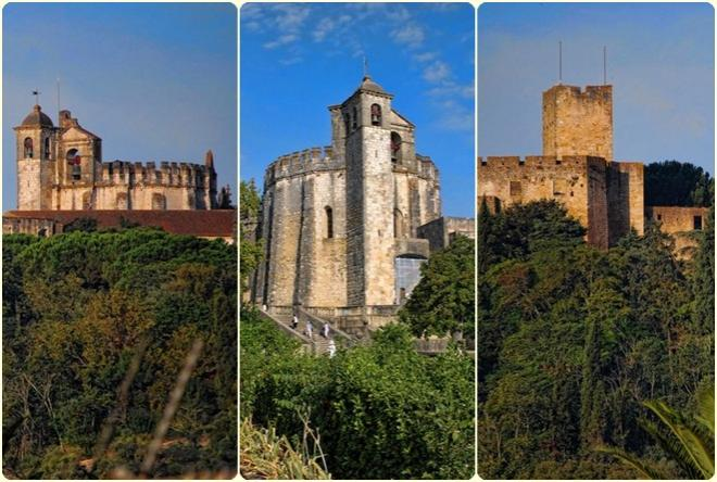The Castle of Tomar, Charola and the Convent of Christ