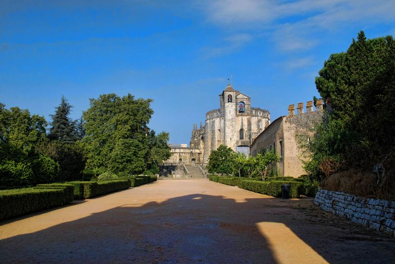 Round Church at Christ's Convent in Tomar in Portugal