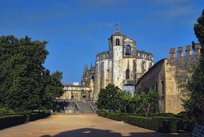 Charola or Round Church in Tomar, Portugal