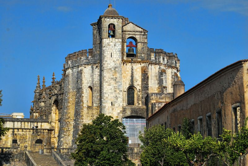 Round Church in Tomar in Portugal