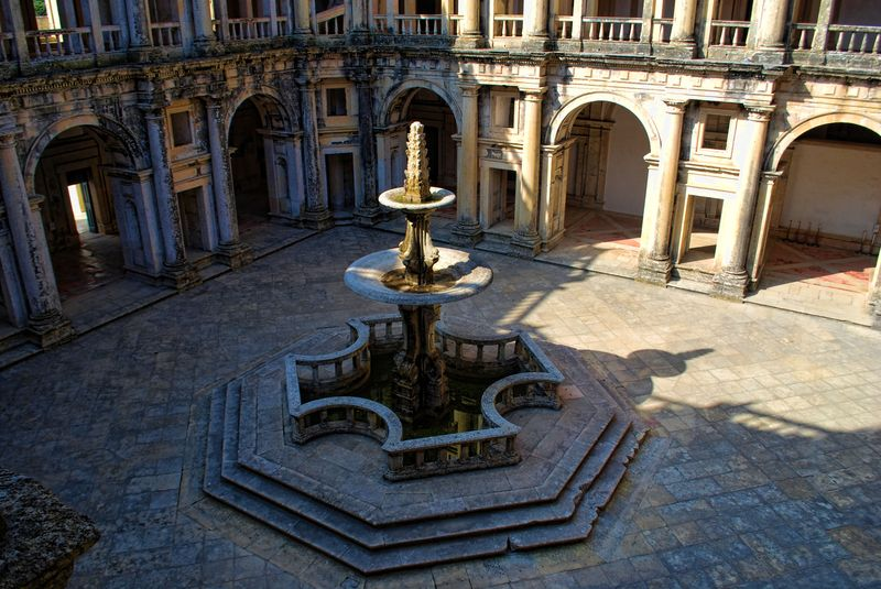 Cloister of King D. João III at the Christ Convent in the City of Tomar