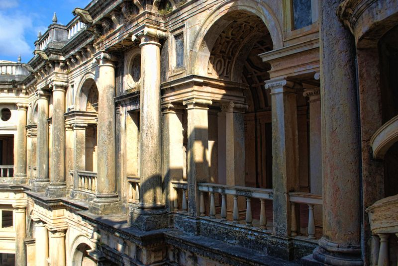Convent of Christ in the City of Tomar is part of the Unesco World Heritage