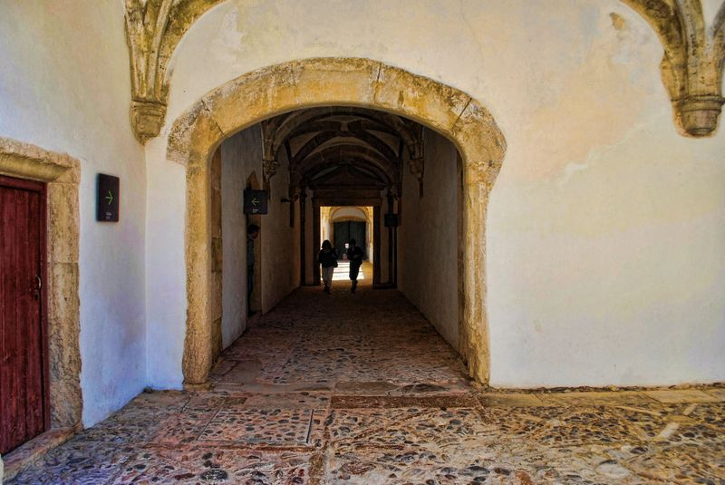 Another corridor at the Christ Convent in Tomar