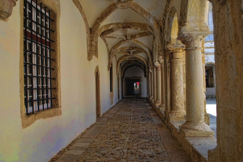Corridor at the Convent of Christ in the City of Tomar