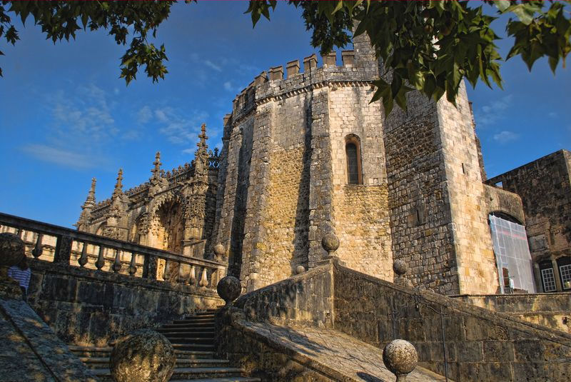 Convent of Christ and the Charola in Tomar, Portugal