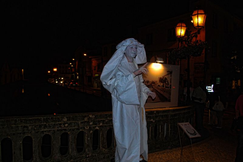 Human Statues in Tomar: Henry the Navigator