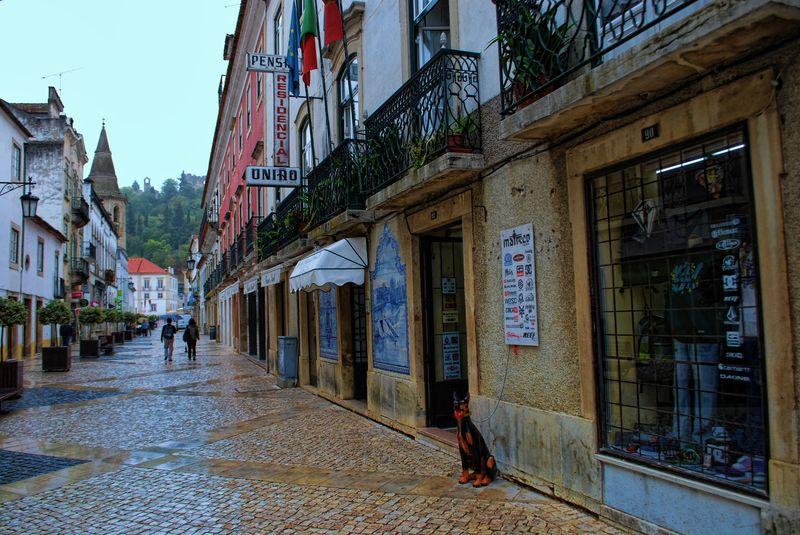 Pensão Residêncial União at Rua Serpa Pinto, Tomar, Portugal