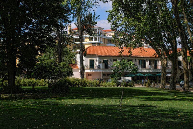 Sant Iria Inn near Nabão River in Tomar