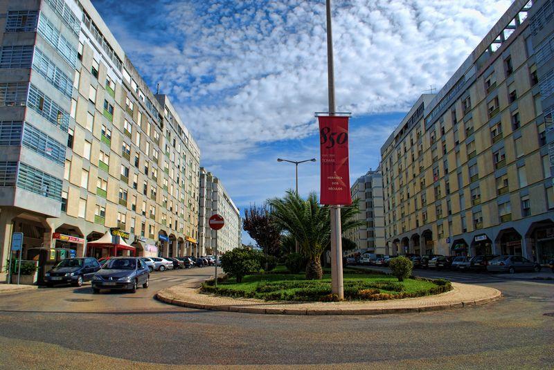 Alameda 1º de Março, City of Tomar