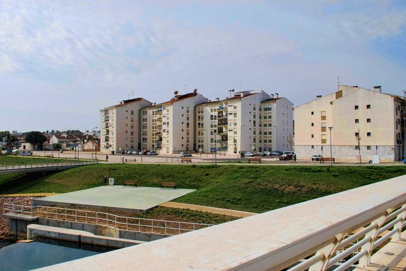 Blocks of apartments at Flecheiro in the City of Tomar
