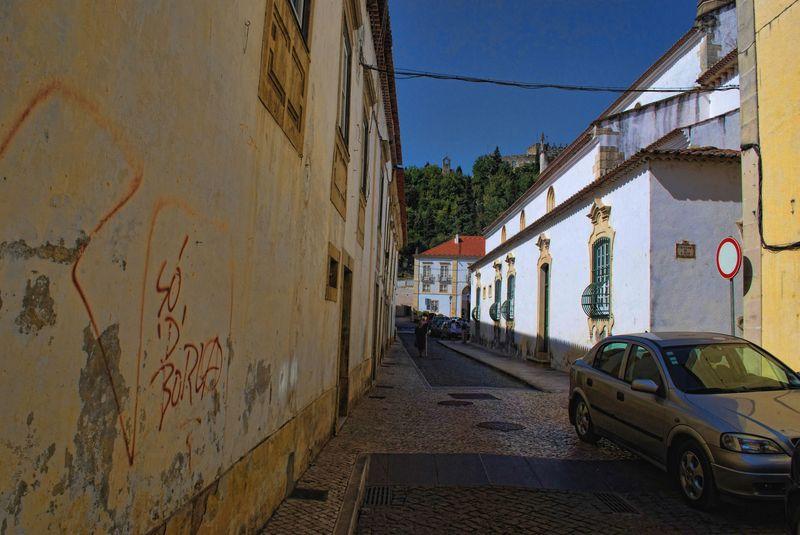 Graffiti at Rua de São João in the City of Tomar