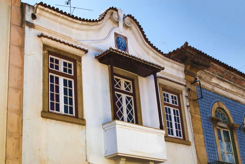 I was born in this house at Rua Marquês de Pombal, Tomar