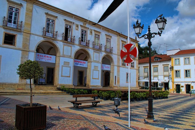 Building of the TownCouncil of the City of Tomar in Portugal