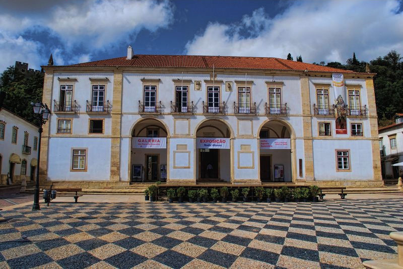 City Council of the City of Tomar at Praça da República in Portugal