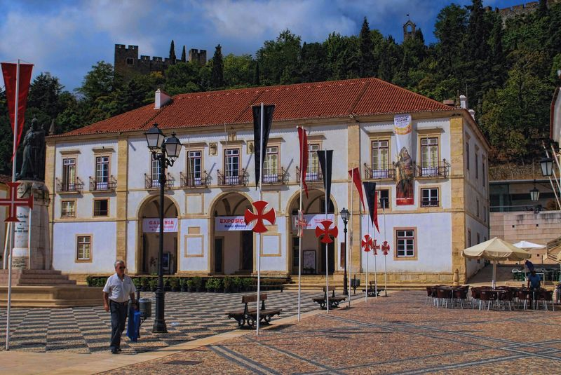 Town Council of the City of Tomar at Praça da República in Portugal