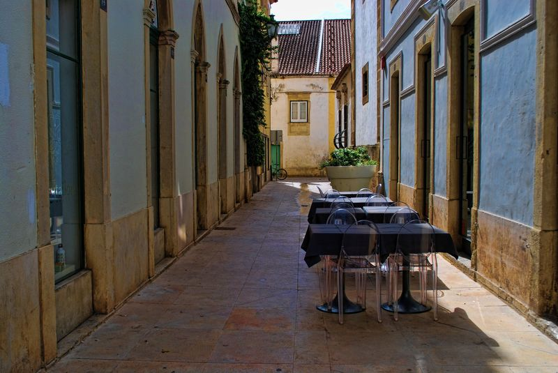 La Bella Restaurant at Travessa de São João in the City of Tomar