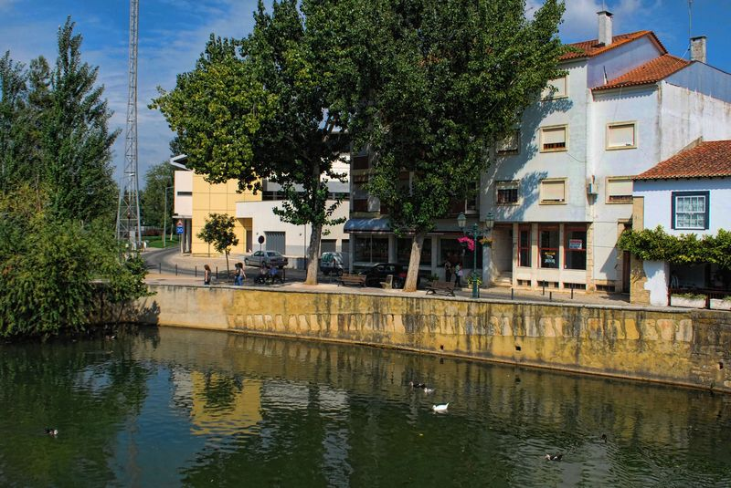 Nabão Restaurant in the City of Tomar in Portugal