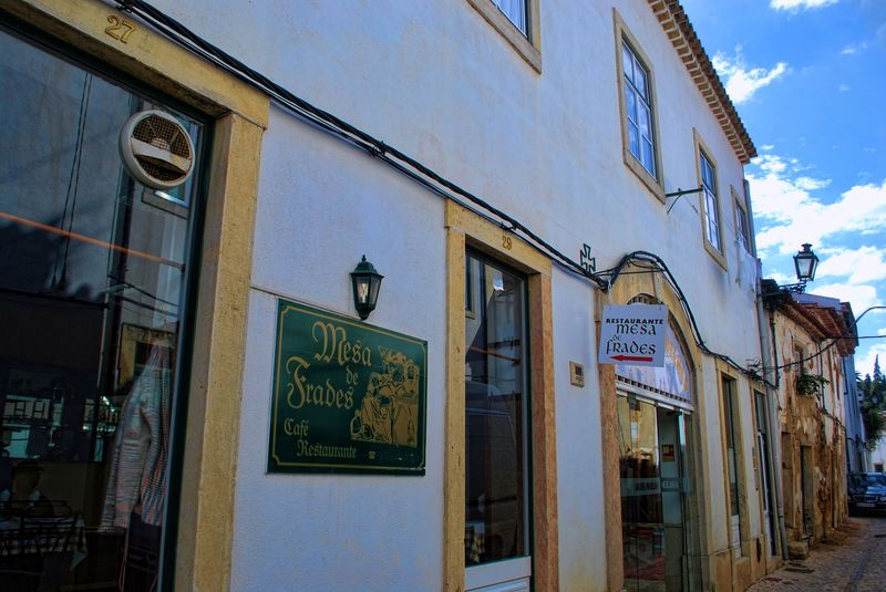 Restaurante Mesa dos Frades in the City of Tomar in Portugal
