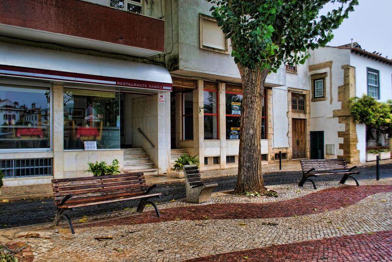 Restaurante Nabão, Cidade de Tomar, Portugal