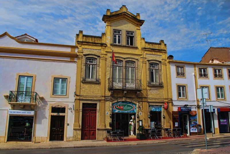 Restaurante O Siciliano in the City of Tomar, Portugal