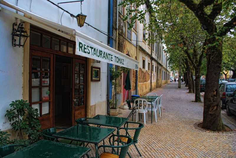 Tomaz Restaurant at Rua dos Arcos in the City of Tomar