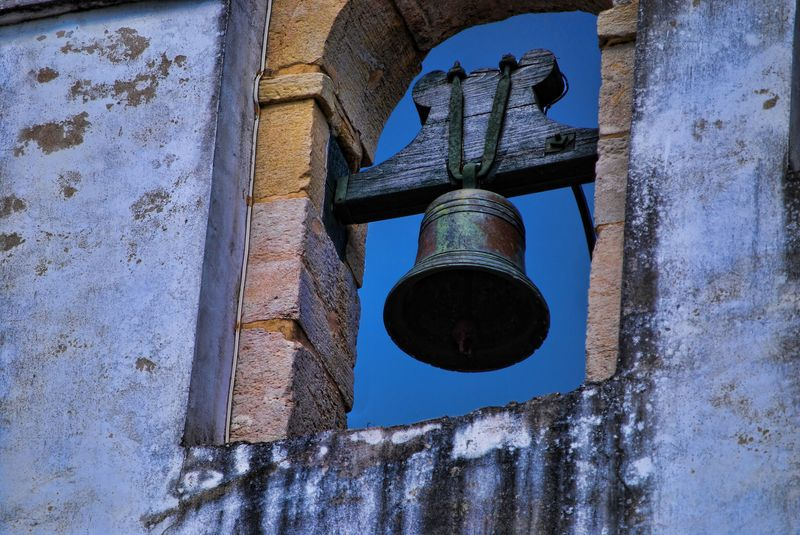Bell at the Chapel of Senhora da Conceição in the City of Tomar in Portugal