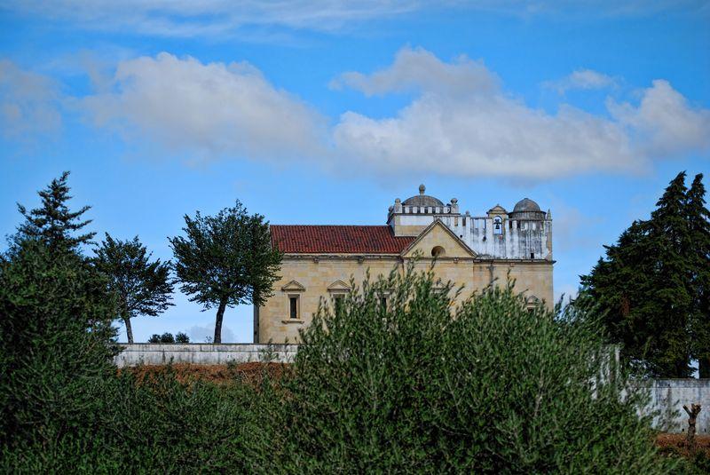 Chapel of Senhora da Conceição from the road to the Convent of Christ
