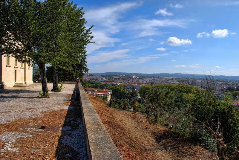 Panoramic views from the Chapel of Senhora da Conceição in the City of Tomar