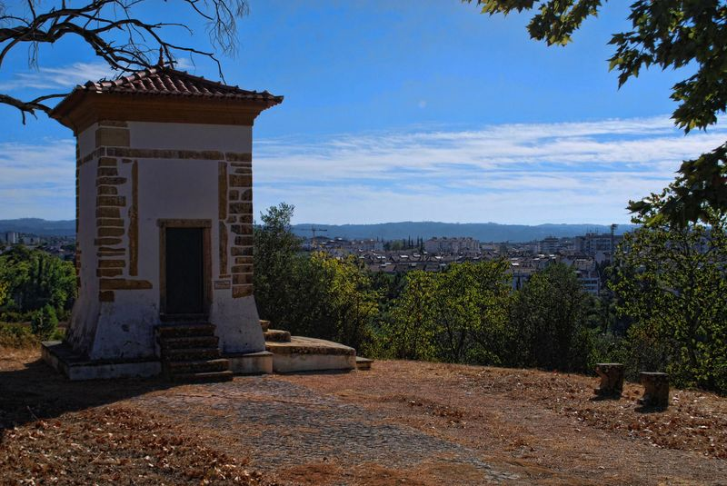 Capelinha de Bom Jesus in the City of Tomar in Portugal