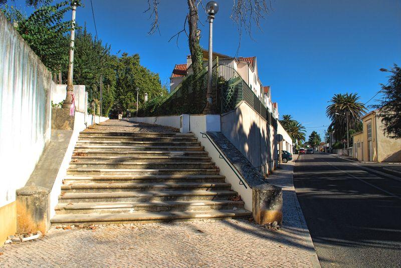 Staircase of Senhora da Piedade, Tomar, Portugal