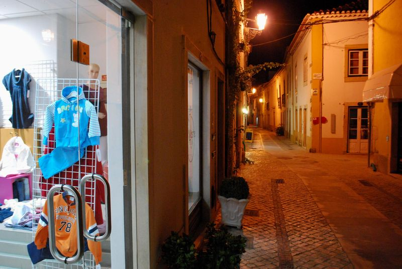 Children's Clothes Shop at Rua dos Moinhos in the City of Tomar