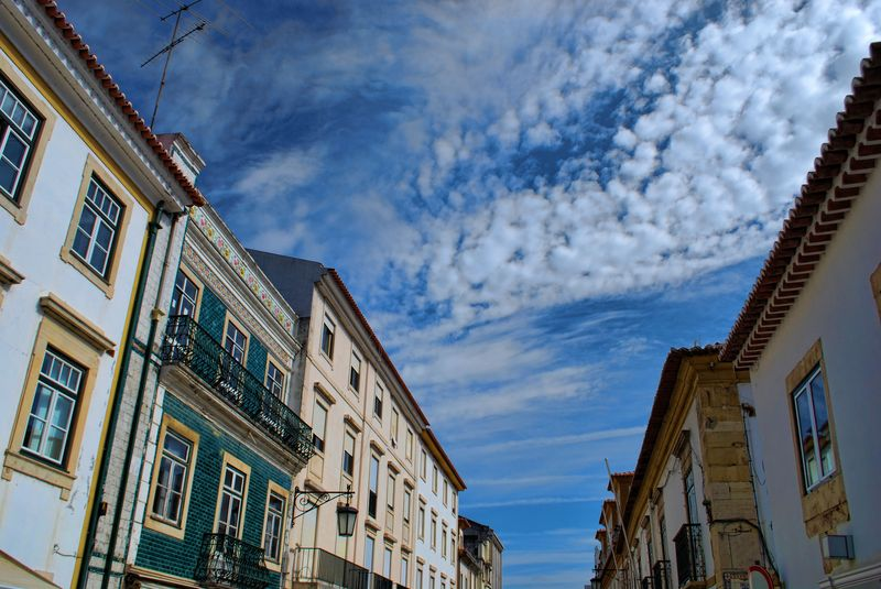 Spectacular skies and clouds in the City of Yomar