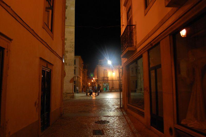 Rua Silva Magalhães in Tomar, Portugal
