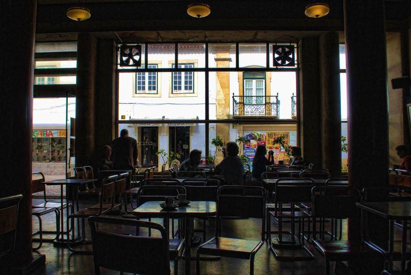 Café Paraíso in the City Tomar is 100 years old